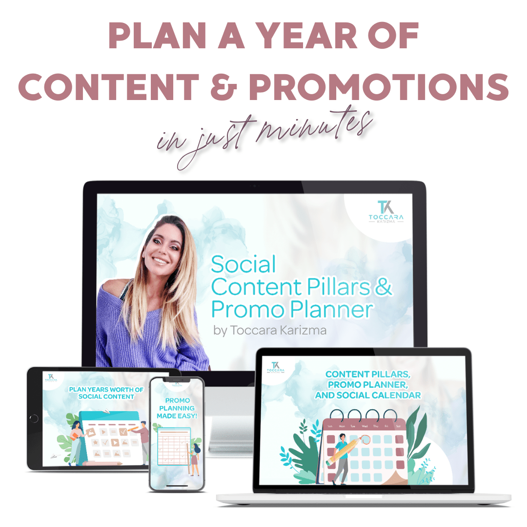 Content Pillars and Promotion Planner for Instagram