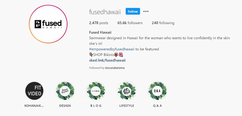 fused hawaii instagram marketing