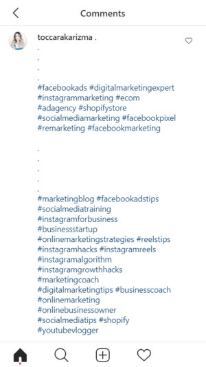 hashtag tiers