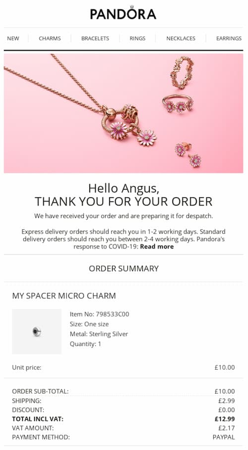 transactional email example
