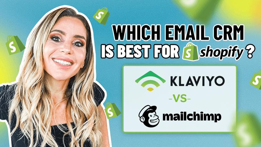 klaviyo vs mailchimp for shopify